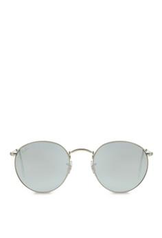 bd7db87da1 Ray-Ban Round Metal RB3447 Sunglasses RA370GL07SBOSG 1
