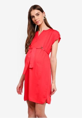 646d1fb22f672 Buy Seraphine Camden Maternity Eyelet Detail Shift Dress | ZALORA HK
