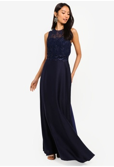 2c294106ce22 Little Mistress navy Navy Emb Maxi 4E6BFAA961FB25GS 1