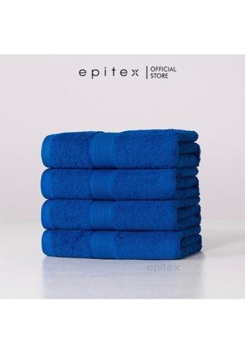 Epitex Epitex Basic Bath Towel (Dark Blue) 8759FHL732C80EGS_1