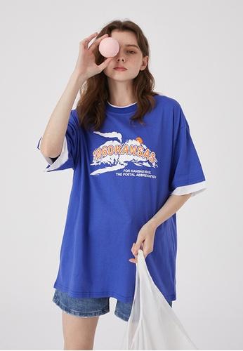 Twenty Eight Shoes Oversize Printed T-Shirts HH0060 B98B8AAE7578C2GS_1