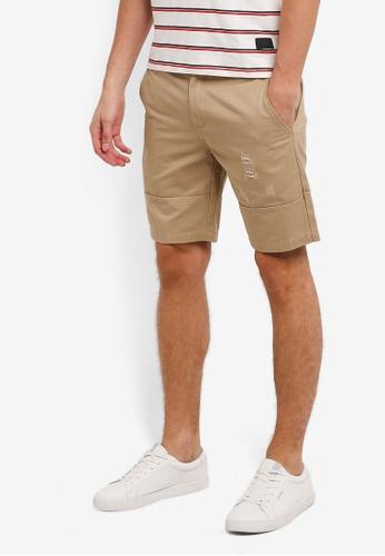 Flesh IMP brown Scrotch Hader Shorts FL064AA0RNAJMY_1