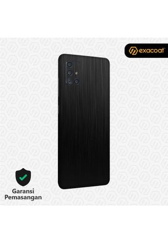 Exacoat Galaxy A51 / A71 3M Skins Titanium Series - Titanium Black 284A2ES9943F30GS_1