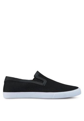 Topman black Keys Knit Black Slip Ons 8A3E2SH2FF9981GS_1