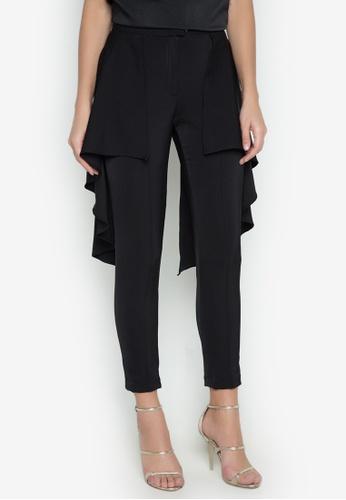Madelaine Ongpauco Barlao black Stacey Pants MA508AA0JM8LPH_1