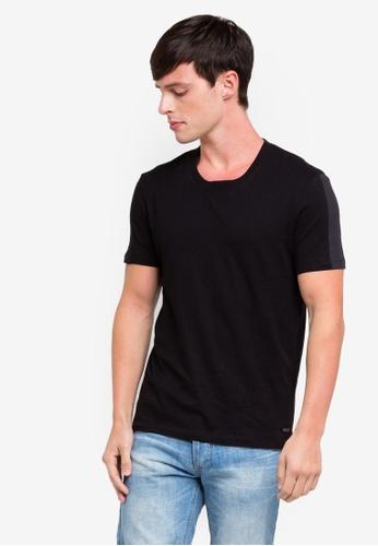 ESPRIT 黑色 Short Sleeve T-Shirt 5F713AACAB4D95GS_1