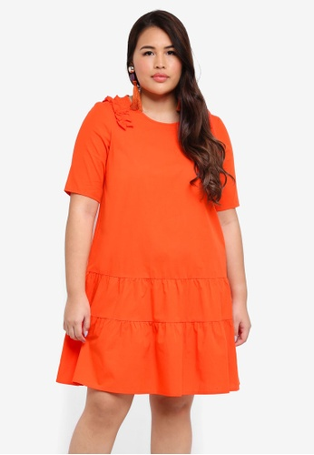 Junarose red Plus Size Oya Dress 58419AABA6103AGS_1