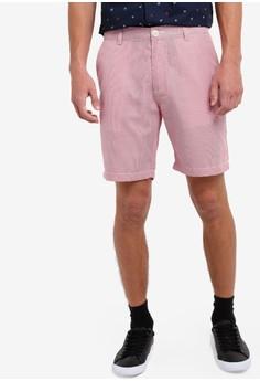 【ZALORA】 時髦條紋短褲
