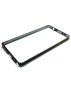 Metal Bumper for Samsung Note 4 (Black)