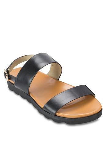 esprit台灣寬帶繞踝涼鞋, 韓系時尚, 梳妝