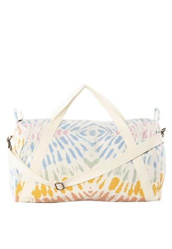 Rip Curl multi Wipeout Canvas Duffle Bag 85B06AC6471893GS_1