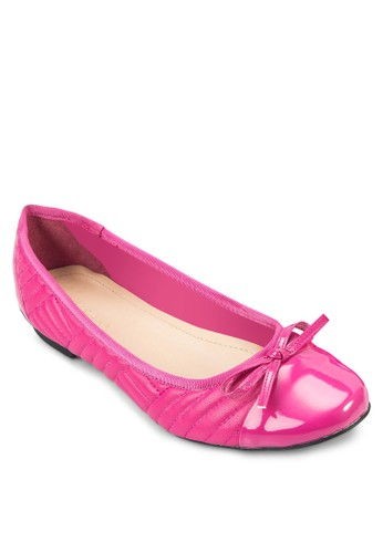 KIRSTEN 拼接蝴蝶結娃娃鞋, 女esprit 折扣鞋, 鞋