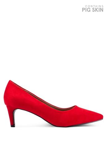 VANESSA WU red Averie Pump Heels 67DAESH2534EEBGS_1