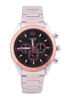 Brixton Rosegold Steel Watch