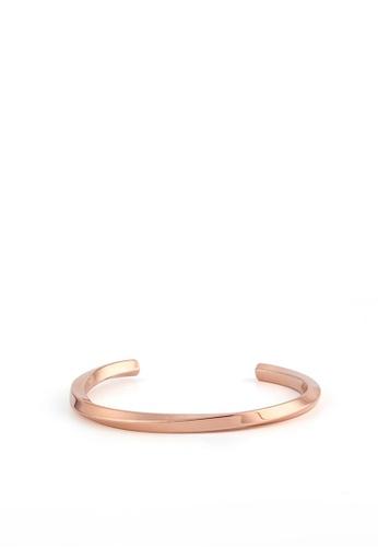 HAPPY FRIDAYS Twist Titanium Steel Bracelet DW0224 0117EAC8CF0148GS_1