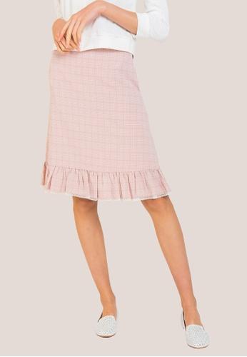 L'zzie pink DIANA SKIRT - PINK 6BBF4AAFDA9C26GS_1