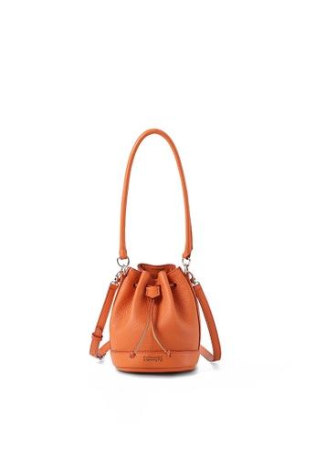 RABEANCO orange RABEANCO RIE Mini Bucket Bag - Orange AB1E0AC47002BEGS_1