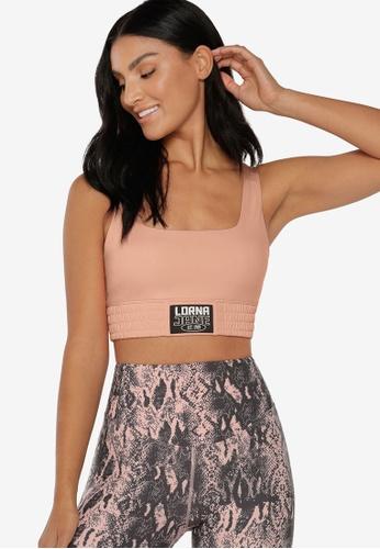Lorna Jane pink Power Up Sports Bra BAD55US0AB159EGS_1