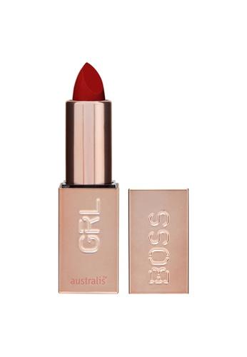 Australis red Australis GRLBOSS Matte Lipstick Runway D15EEBE0CF29ACGS_1