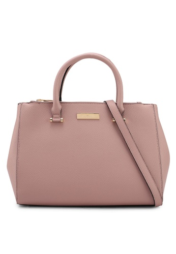 Carvela KG pink Sunny Double Zip Compartment Tote Bag 766F8AC78F3F7AGS_1