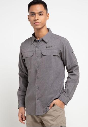 Columbia grey Irico Men's Long Sleeve Shirt FF81EAAD6CD5FEGS_1