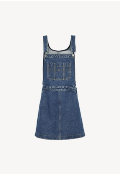 faedb5e86c Tommy Jeans Tjw A Line Dungaree Dress Ghmb S  299.00. Sizes XS S M