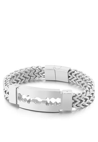 HAPPY FRIDAYS Creative Blade Titanium Steel Bracelet KL149653 55795AC249F164GS_1