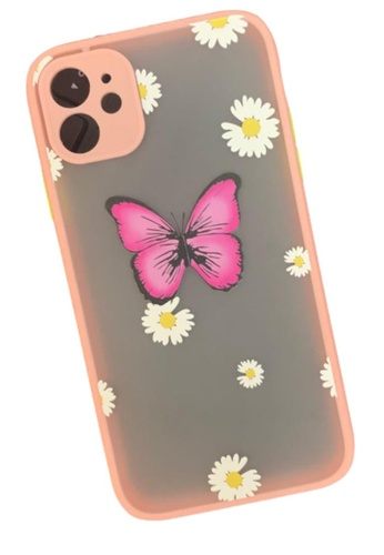 Kings Collection pink Pink Butterfly iPhone 11 Case (KCMCL2196) 5B926AC9E2C1E6GS_1