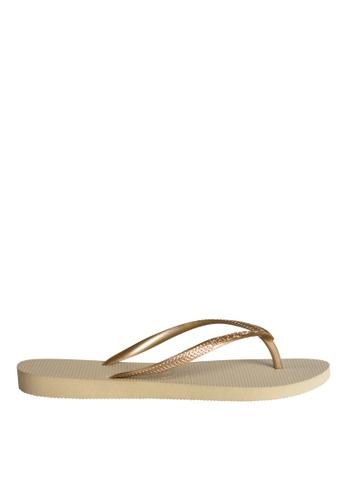 2d229b2b6a00 Shop Havaianas Slim Flip Flops Online on ZALORA Philippines