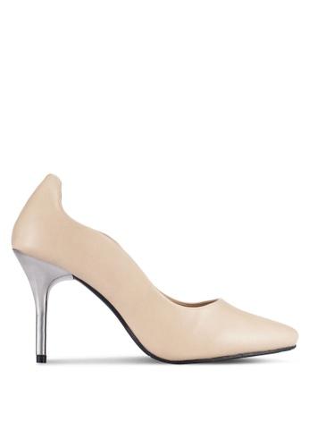 Alfio Raldo beige Pointed Toe Heels AL803SH0R9OXMY_1