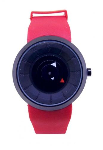 Sk Time Watch Shop black Japan Design 18K Plating Fashion Genuine Cow Leather Steel Watch SK518AC0ITUCPH_1