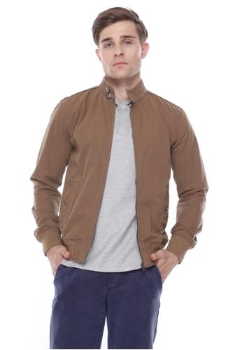 Skelly brown Skelly Harrington Jacket Brown 4D9C0AA896C46BGS_1