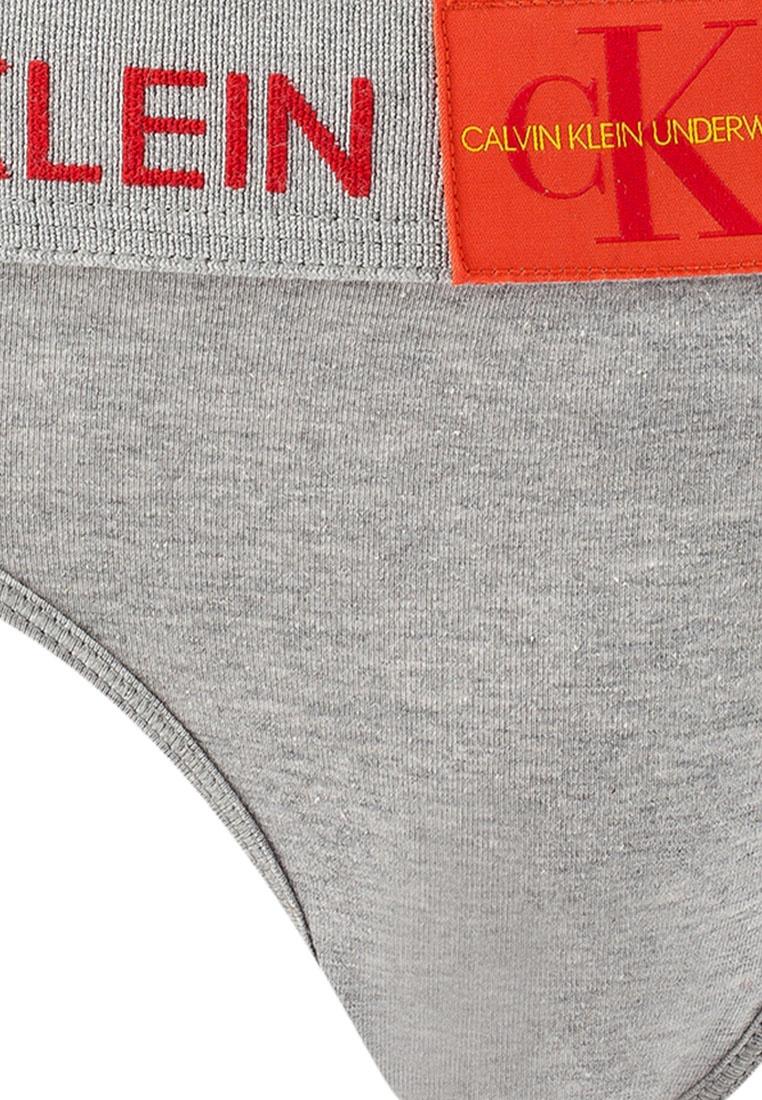507234e44c Calvin Heather Modern Thong Grey Klein Cotton XrwXp in ...