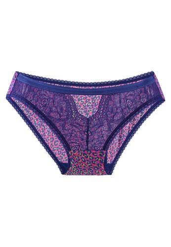 LAVABRA Intimates blue Very Sexy Panty - Clara Sexy Lace Microfiber Bikini Panty LA387US80RLRID_1
