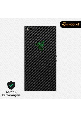 Exacoat Razer Phone 3M Skins Carbon Fiber Black - Cut Only DBFA3ES1424667GS_1