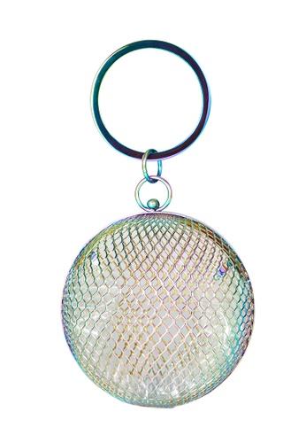 My Flash Trash multi Hologram Cage Sphere clutch bag F7935AC83777DCGS_1