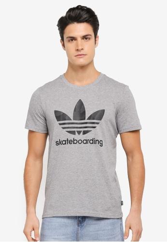 adidas grey adidas clima warp tee AD372AA0SSNEMY_1