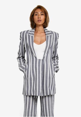 AfiqM multi Striped Suit jacket AF546AA0S2M8MY_1