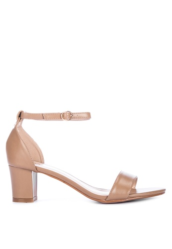 ABOUT A GIRL brown Heeled Sandals B927DSH8915CC8GS_1