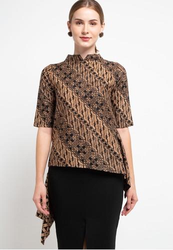 Batik First brown Blouse Stella Cut&Sew S3V TCH34 8FAF4AA462C73BGS_1
