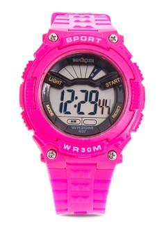 Girls Rubber Strap Watch MXPO-637B