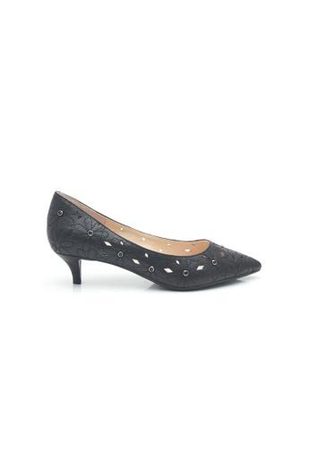 Elisa Litz black Jalley Low Heels (Black) 59679SH31324BAGS_1