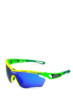 b796450b9a Rudy Project multi Tralyx Fade Sports Eyewear in Racing Fluo with  Multilaser Lenses A7364ACF4AE845GS 1