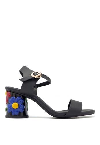 "Carlo Rino black Carlo Rino 33340-C024-08 2.5""Slingback Dress Sandals 4DF24SHA7D211DGS_1"