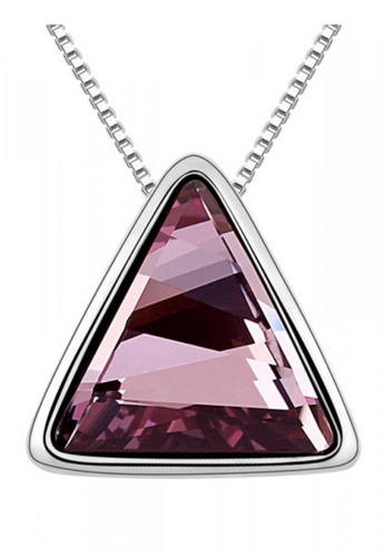 LOVENGIFTS purple Beautiful Fate Pendant Necklace (Burgundy) EAF9AAC5B6C191GS_1