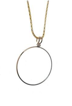 Optical Magnifier Lens Necklace