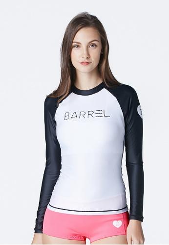 BARREL multi Eve Women Rashguard White/black BA307US42SKRSG_1