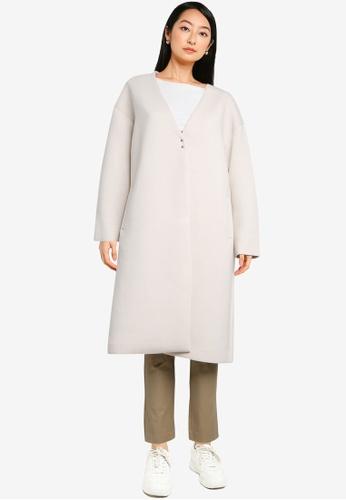 niko and ... white Ladies Long Coat D2883AA130FE06GS_1