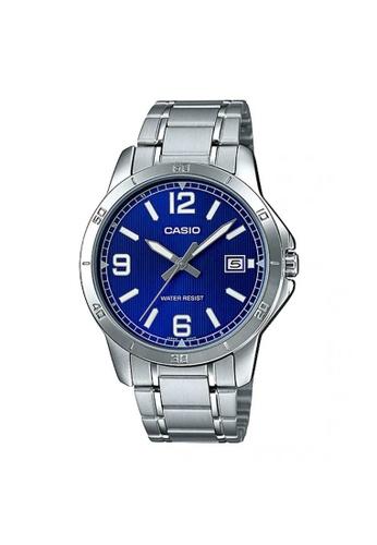 CASIO silver CASIO GENERAL MTP-V004D-2BUDF MEN'S WATCH D51A7AC0236D03GS_1