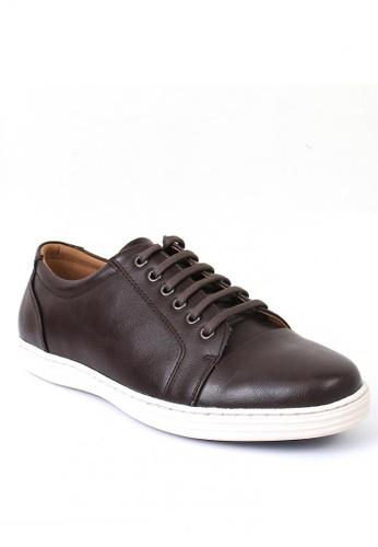 7soles brown Prester Men's Sneakers 47376SH8C0AE89GS_1